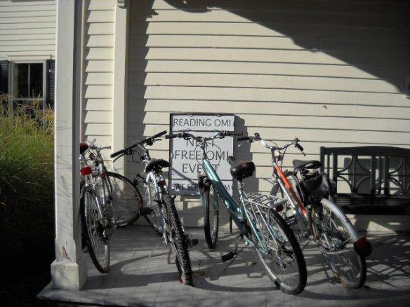 יש גם אופניים